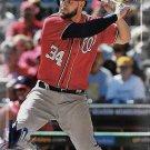 Bryce Harper 2017 Bowman #2 Washington Nationals Baseball Card