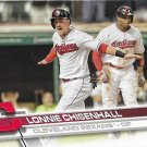 Lonnie Chisenhall 2017 Topps #535 Cleveland Indians Baseball Card