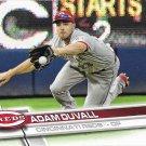 Adam Duvall 2017 Topps #128 Cincinnati Reds Baseball Card