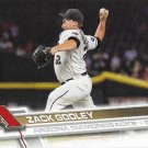 Zack Godley 2017 Topps #387 Arizona Diamondbacks Baseball Card