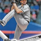 Miguel Gonzalez 2017 Topps #549 Chicago White Sox Baseball Card
