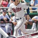 Max Kepler 2017 Topps #405 Minnesota Twins Baseball Card