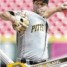 Wade LeBlanc 2017 Topps #254 Pittsburgh Pirates Baseball Card