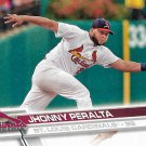 Jhonny Peralta 2017 Topps #368 St. Louis Cardinals Baseball Card
