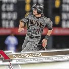 A.J. Pollock 2017 Topps #617 Arizona Diamondbacks Baseball Card