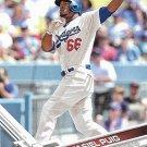 Yasiel Puig 2017 Topps #375 Los Angeles Dodgers Baseball Card