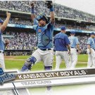 Kansas City Royals 2017 Topps #481 Baseball Team Card