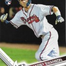 Dansby Swanson 2017 Topps Rookie #87 Atlanta Braves Baseball Card