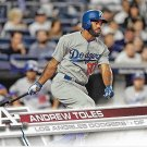 Andrew Toles 2017 Topps Rookie #454 Los Angeles Dodgers Baseball Card