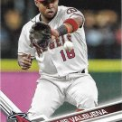 Luis Valbuena 2017 Topps #638 Los Angeles Angels Baseball Card