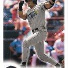 Jose Canseco 2000 Fleer Focus #172 Tampa Bay Devil Rays Baseball Card