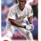 Doug Glanville 2000 Fleer Focus #69 Philadelphia Phillies Baseball Card