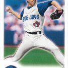 Roy Halladay 2000 Fleer Focus #61 Toronto Blue Jays Baseball Card