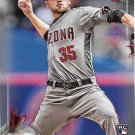 Braden Shipley 2017 Bowman Rookie #83 Arizona Diamondbacks Baseball Card