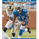 Alphonso Smith 2011 Score #96 Detroit Lions Football Card