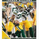 Tramon Williams 2011 Score #112 Green Bay Packers Football Card