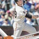 Buster Posey 2017 Topps #675 San Francisco Giants Baseball Card