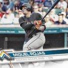 Miguel Rojas 2017 Topps #509 Miami Marlins Baseball Card