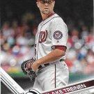 Blake Treinen 2017 Topps #398 Washington Nationals Baseball Card