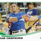 Yoenis Cespedes 2013 Topps Update #US7 Oakland Athletics Baseball Card