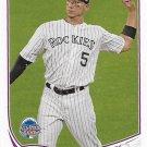Carlos Gonzalez 2013 Topps Update #US227 Colorado Rockies Baseball Card