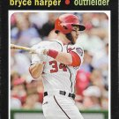 Bryce Harper 2013 Topps 1971 Mini #TM-1 Washington Nationals Baseball Card
