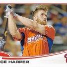 Bryce Harper 2013 Topps Update #US100 Washington Nationals Baseball Card