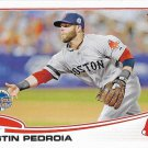 Dustin Pedroia 2013 Topps Update #US114 Boston Red Sox Baseball Card