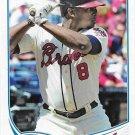 Justin Upton 2013 Topps Update #US140 Atlanta Braves Baseball Card