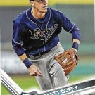 Matt Duffy 2017 Topps #551 Tampa Bay Rays Baseball Card