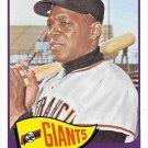 Willie Mays 2016 Topps Berger's Best #BB2-1965 New York Giants Baseball Card