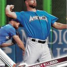 Corey Kluber 2017 Topps Update #US64 Cleveland Indians Baseball Card