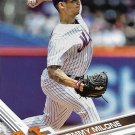 Tommy Milone 2017 Topps Update #US85 New York Mets Baseball Card