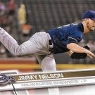 Jimmy Nelson 2017 Topps #193 Milwaukee Brewers Baseball Card