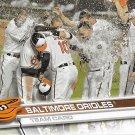 Baltimore Orioles 2017 Topps #141 Baseball Team Card
