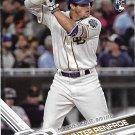 Hunter Renfroe 2017 Topps Update Rookie Debut #US22 San Diego Padres Baseball Card