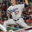 Alex Wood 2017 Topps Update #US257 Los Angeles Dodgers Baseball Card