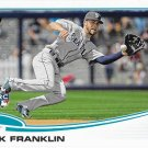Nick Franklin 2013 Topps Update Rookie #US68 Seattle Mariners Baseball Card