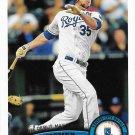 Eric Hosmer 2011 Topps Update Rookie Debut #US188 Kansas City Royals Baseball Card