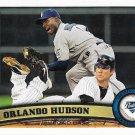 Orlando Hudson 2011 Topps Update #US185 San Diego Padres Baseball Card