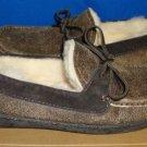 UGG Australia Men's BYRON Bomber Jacket Chocolate Shoes Size US 8 NEW #1001545
