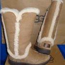 UGG Australia KATIA Chestnut Waterproof Suede Tall Boots Size US 7 NIB #1008030