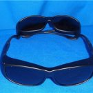 Solar Shield Sunglasses Fits Over, Size M Lot Of 2 Style 22501 New