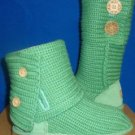 UGG Australia Spearmint Kids Classic Cardy Boots Size US 12  New  #5649