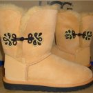 UGG Australia Rabbitbrush BAILEY GOLD MARIKO Short Boots Size US 7 NEW #1009264