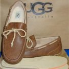 UGG Australia Men's CHESTER Chestnut Twinsole Moccasins Size US 11 NIB #1008402