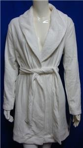 UGG Australia Women's BLANCHE Cream Wrap Robe Size Large NWT #UA5178W