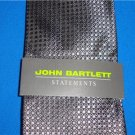 JOHN BARTLETT 100 % Silk Men's Tie NEW With Tags Style 13923300001
