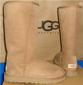 UGG Australia Chestnut Classic Tall II Boots Size US 7, EU 38 NEW  #1016224