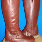 UGG Australia DAHLEN Bourbon Tall Leather Fully Lined Boots Size 6.5 NEW 1006043